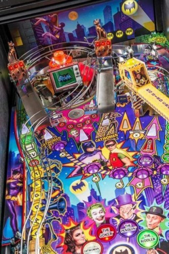 Batman 66 Premium (Catwoman Edition) Pinball Machine