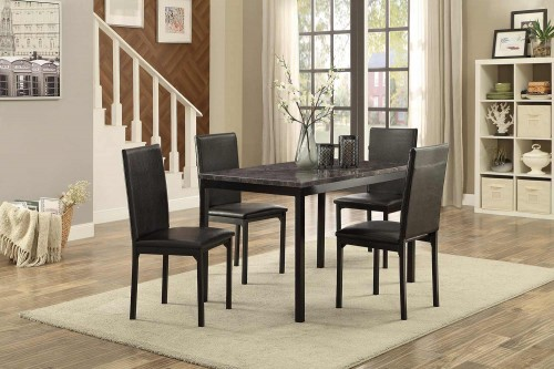 Tempe Dining Set - Faux Marble Top