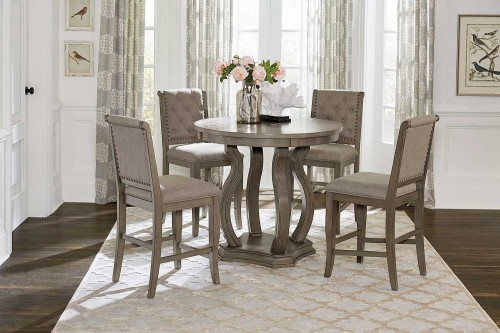 Vermillion Counter Height Dining Set - Bisque