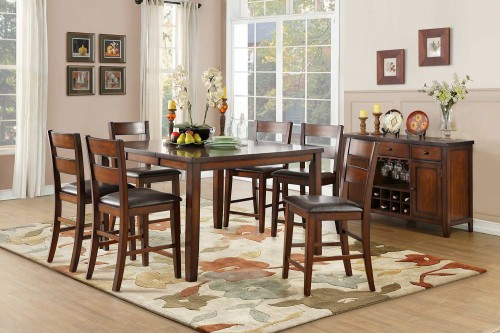 Mantello Counter Height Dining Set - Cherry