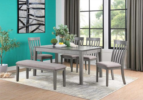 Armhurst Dining Set - Gray