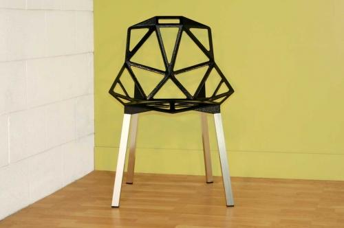 Kaysa Black Accent Chair