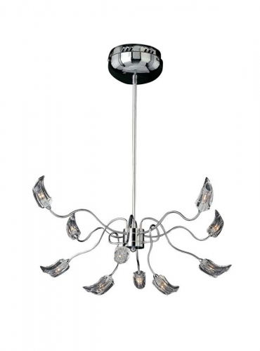 Ice 10Lt Chandelier