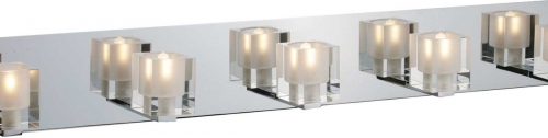 Blocs 5 Lt Chrome Bath Wall Bar