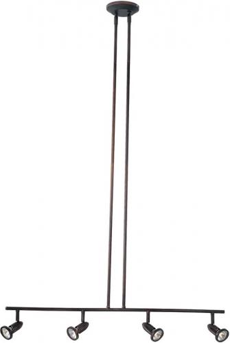 Agron 4 Lt Linear Semi Flushmount