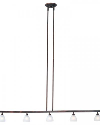 Fuse 5 Lt Linear Semi Flushmount