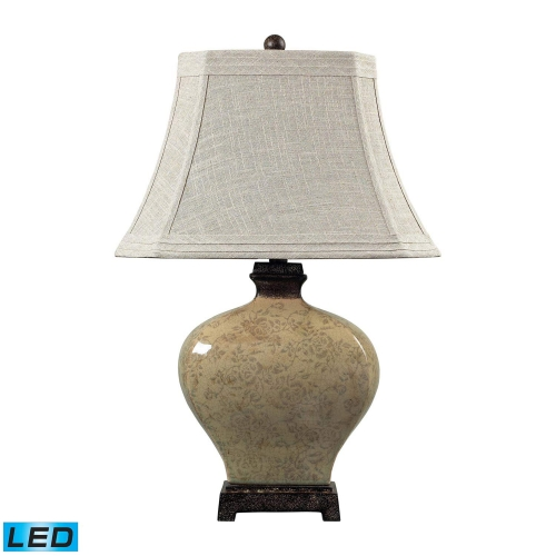 113-1132-LED Normandie Table Lamp - Sky Valley with Bronze