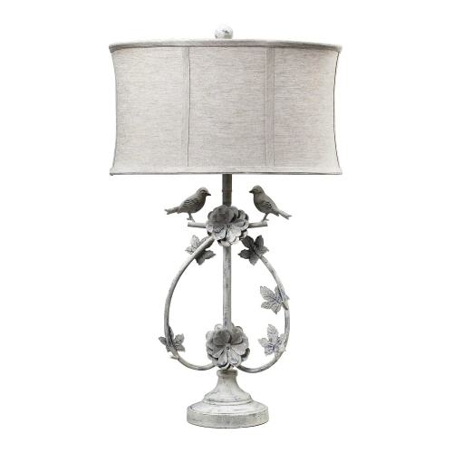 113-1134 Saint Louis Heights Table Lamp - Antique Whte