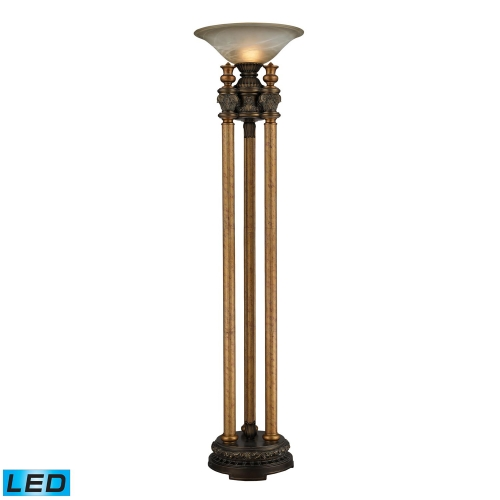 113-1135-LED Athena Uplight - Athena Bronze