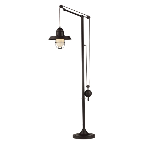 65073-1 Farmhouse Floor Lamp - Oiled Bronze