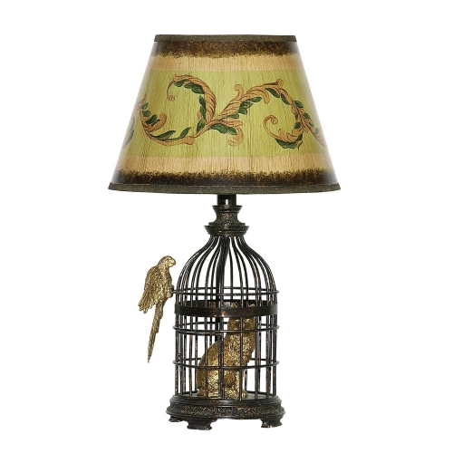 91-620 Trading Places Table Lamp Table Lamp - Bronze