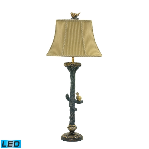 93-028-LED Bird On Branch Table Lamp