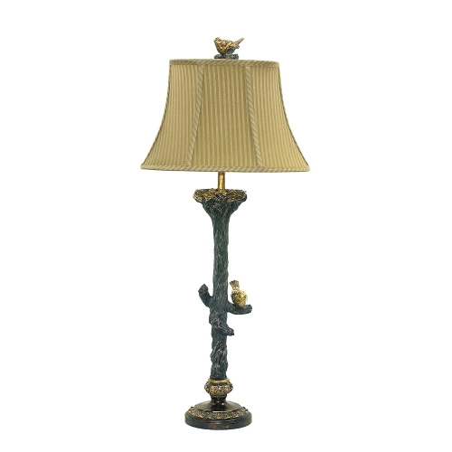 93-028 Bird On Branch Table Lamp
