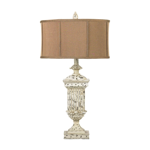 93-029 Morgan Hill Table Lamp - Distressed White