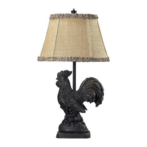 93-91391 Braysford Table Lamp - Braysford Black