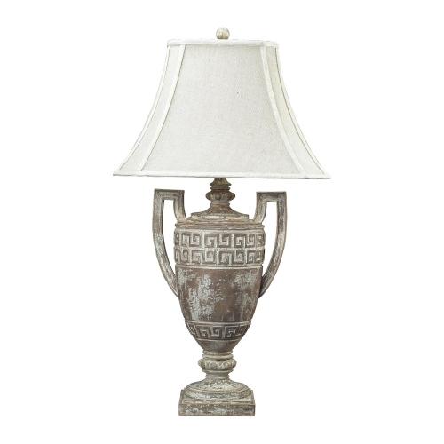 93-9197 Greek Key Table Lamp - Allesandria