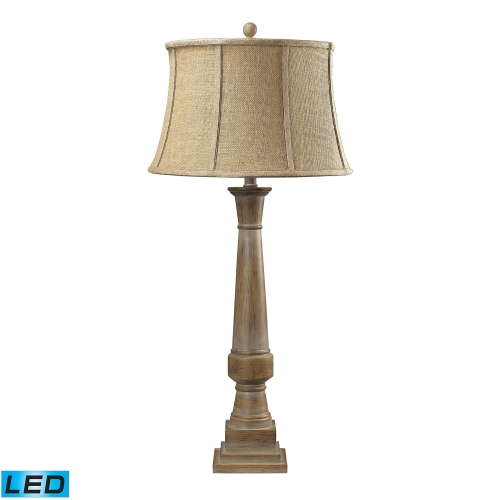 93-9245-LED Lyerly Table Lamp - Bleached Wood