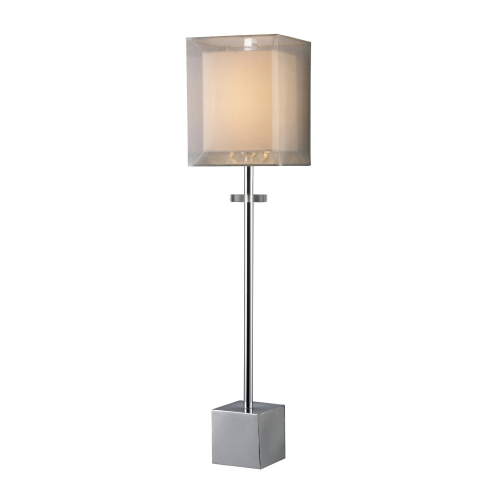 D1408 Sligo Buffet Lamp - Chrome