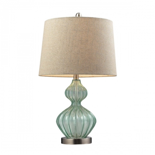 D141 Table Lamp - Light Green Smoke
