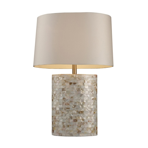 D1413 Sunny Isles Table Lamp - Mother Of Pearl