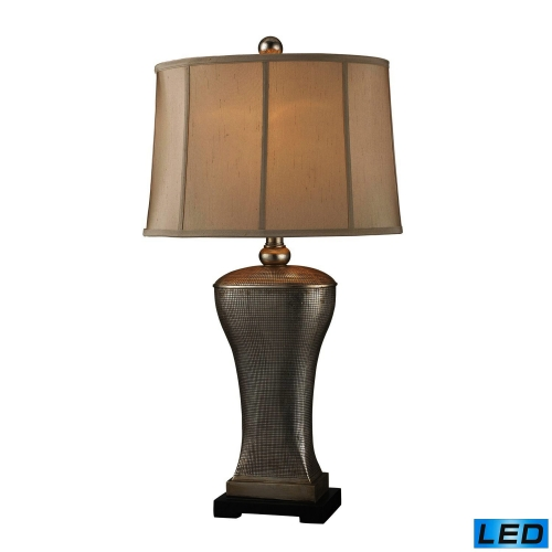 D1431-LED Lexington Table Lamp - Silver Lake