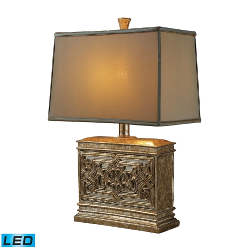 D1443-LED Laurel Run Table Lamp - Courtney Gold