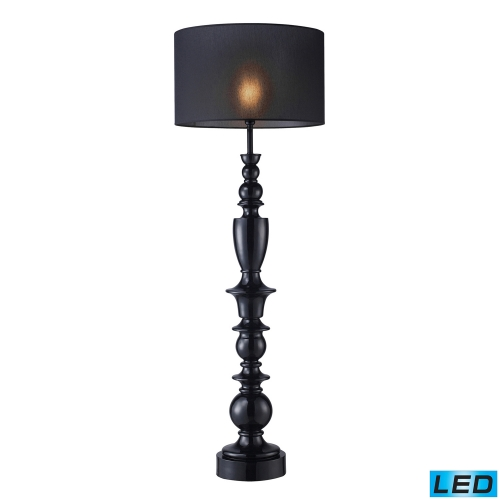 D1469-LED Soho Table Lamp - Gloss Black