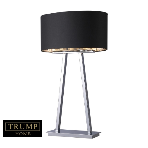 D1479 Empire Table Lamp - Chrome