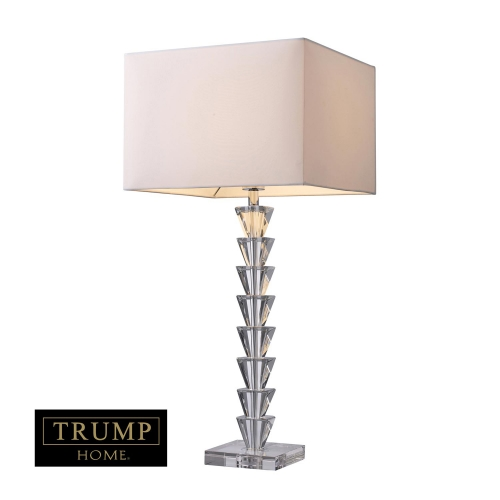 D1482 Fifth Avenue Table Lamp - Clear Crystal