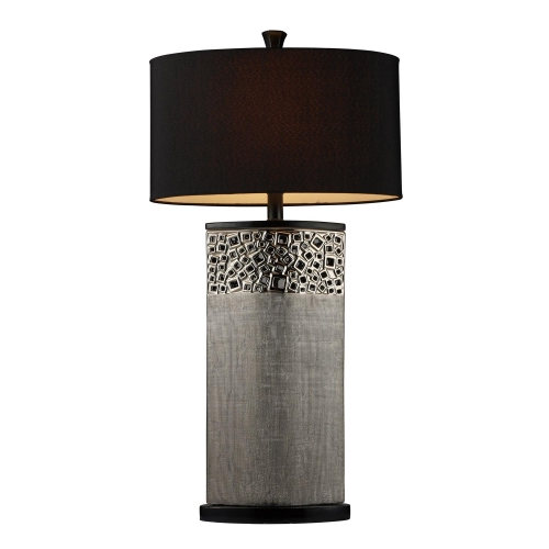 D1490 Bellevue Table Lamp - Silver Plated