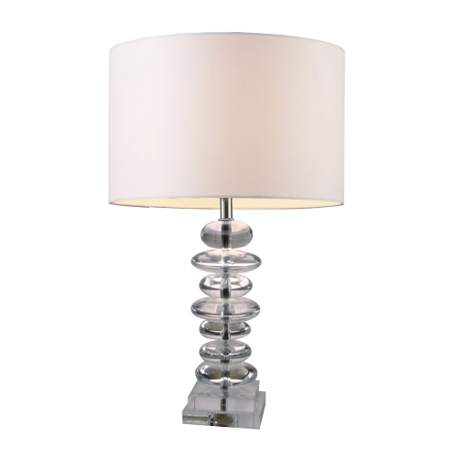 D1512 Madison Table Lamp - Clear Crystal