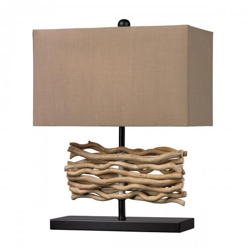 D157 Table Lamp - Black+Nature