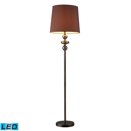 D1607-LED Dravos Floor Lamp - Bronze and Coffee Plating