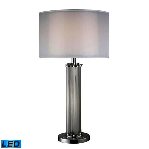 D1614-LED Hallstead Table Lamp - Chrome