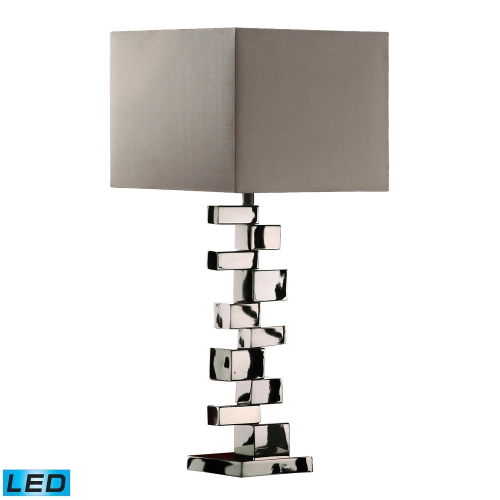 D1619-LED Emmaus Table Lamp - Chrome