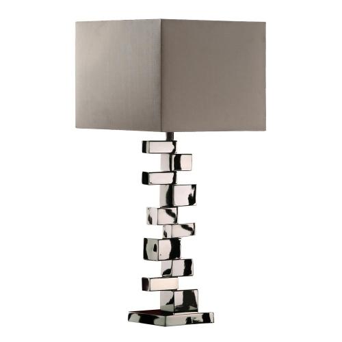 D1619 Emmaus Table Lamp - Chrome