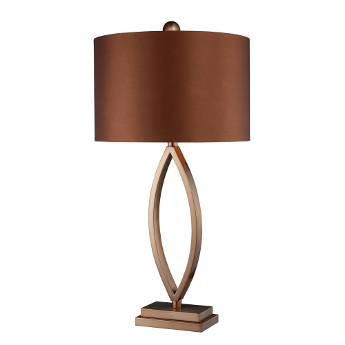 D1712 Dale Table Lamp - Coffee Plating
