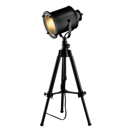 D1734 Ethan Table Lamp - Restoration Black