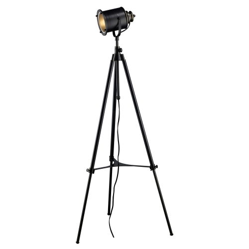 D1735 Ethan Floor Lamp - Restoration Black