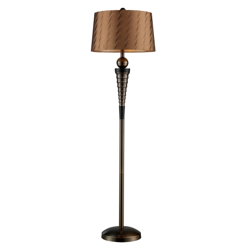 D1739 Laurie Floor Lamp - Dunbrook and Dark Wood