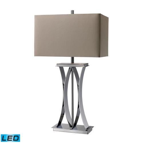 D1801-LED Joline Table Lamp - Chrome