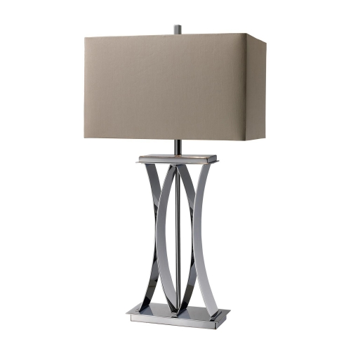 D1801 Joline Table Lamp - Chrome