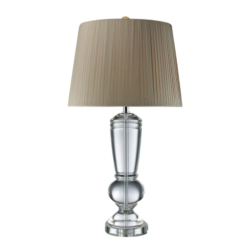 D1811 Castlebridge Table Lamp - Clear Crystal