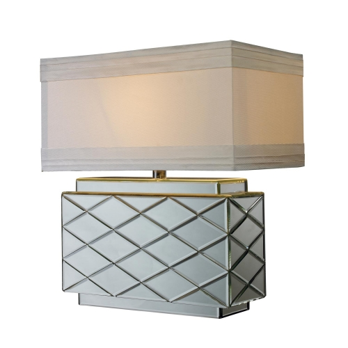 D1835 Wellsville Table Lamp - Mirrored