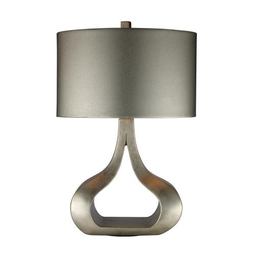 D1840 Carolina Table Lamp - Silver Leaf
