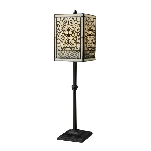 D1851 Adamson Table Lamp - Tiffany Bronze