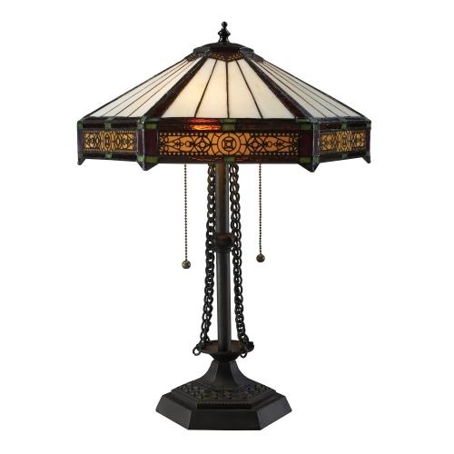 D1852 Filigree Table Lamp - Tiffany Bronze