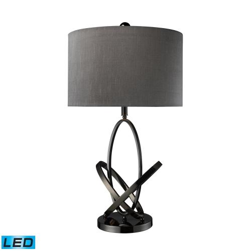 D1874-LED Kinetic Table Lamp - Black Nickel