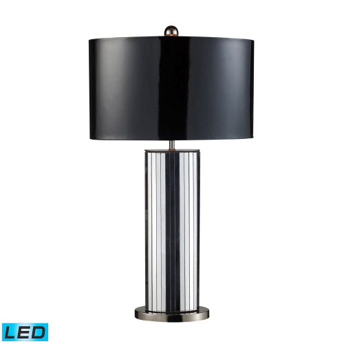 D1893-LED Shreve Table Lamp - Mirrored and Black Nickel