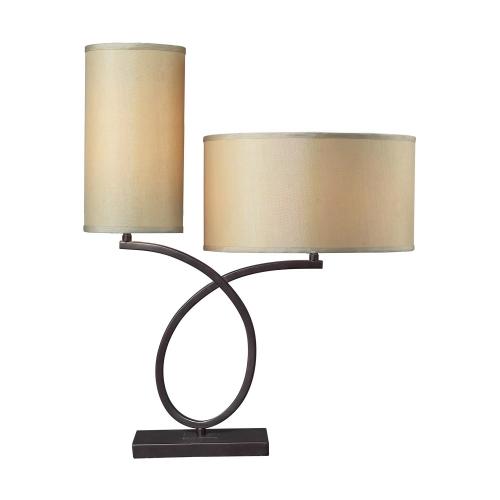 Elk Lighting D2002 Greenwich Table Lamp - Aged Bronze